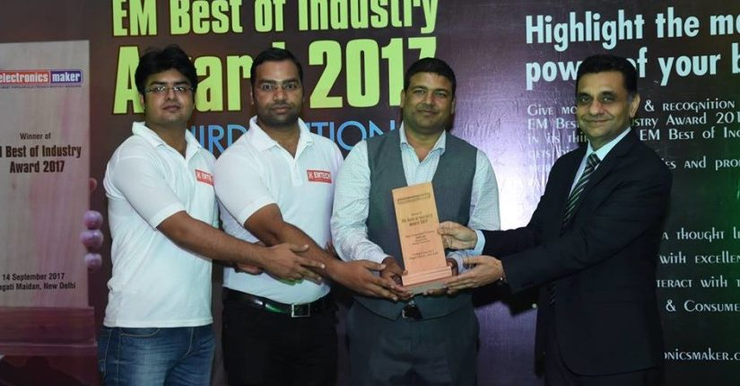 Award For Best Embedded Training Institute in India