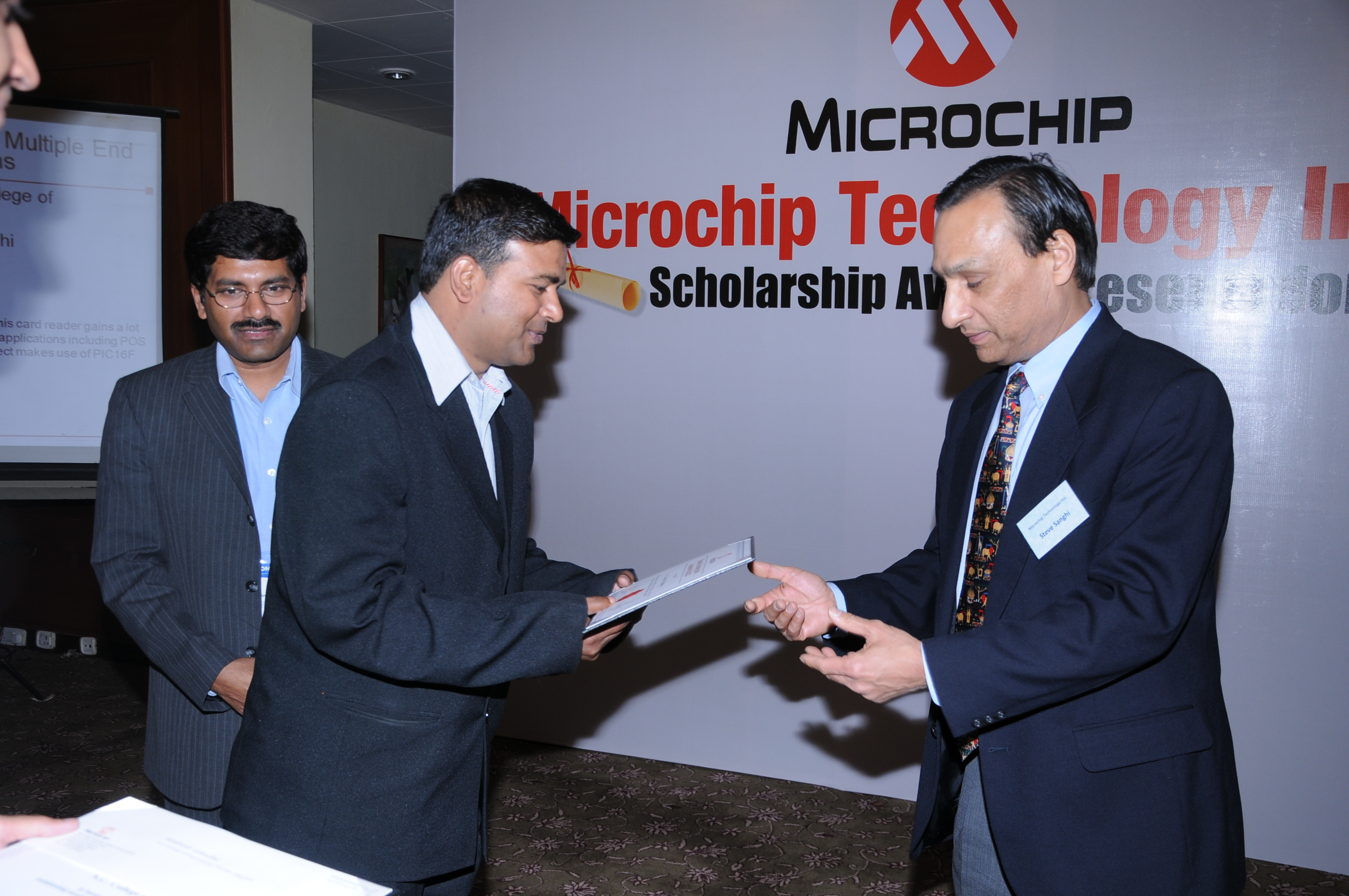 Authorized training Partner by microchip ESSCI